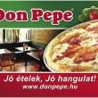 Don Pepe Étterem & Pizzéria - Menyecske utca