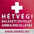 Emineo hétvégi baleseti ügyelet