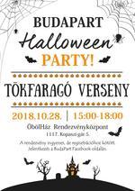 Halloween-i tökfaragó verseny a BudaParton