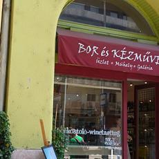 Bor és Kézműves Üzlet, Műhely, Galéria (Forrás: bevasarloutca.hu)
