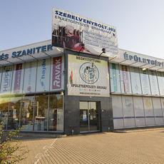 Szerelvénybolt Kft. áruháza Budaörsön, a Sport utcában