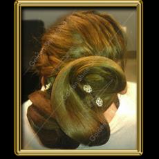 Golden Shine - Menyasszonyi frizura