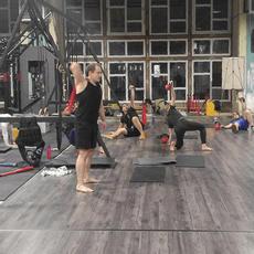 Positive Pain légiós tréning - funkcionális edzések a Beast Arenában