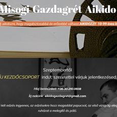 Aikido edzés Gazdagréten