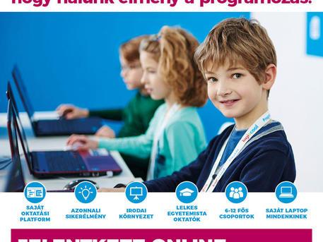 programozás oktatás gyerekeknek