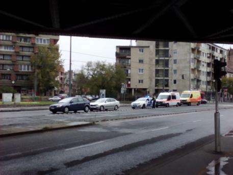 A baleset után (fotó: ittlakunk.hu)