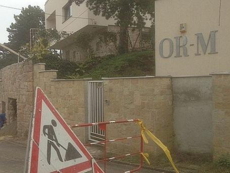 A volt Losonczi-villa a Meredek utcában (fotó:ittlakunk.hu)