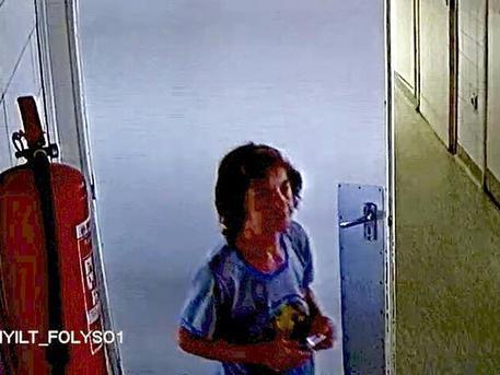 Eltűnése előtt készült a térfigyelő kamera felvétele
