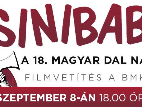 Csinibaba – filmvetítés a Magyar Dal Napja alkalmából