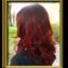 Golden Shine - Vörös Ombre