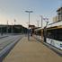 Csonka vágány az 1-es villamos Etele téri végállomásán (fotó: Benda György)