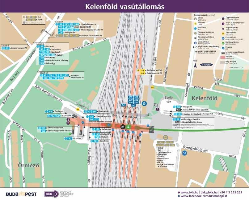kelenföldi pályaudvar térkép XI. kerület   Újbuda   Véglegesítették a metró miatti új felszíni  kelenföldi pályaudvar térkép