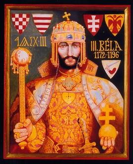 III. Béla, Somogyi Győző: Magyar bajuszos királyok arcképcsarnoka