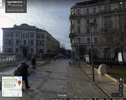 2018 tavasza, kép: Google maps