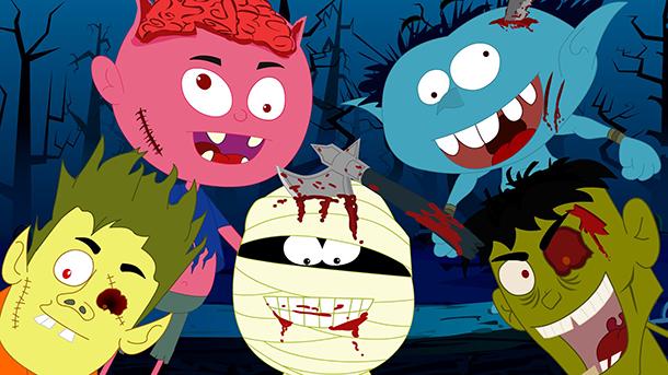 Kép: five little zombies