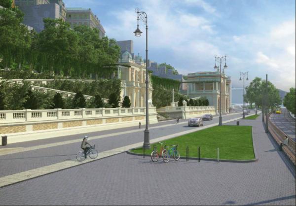 A Várbazár látványterve (forrás: Budavári Önkormányzat)