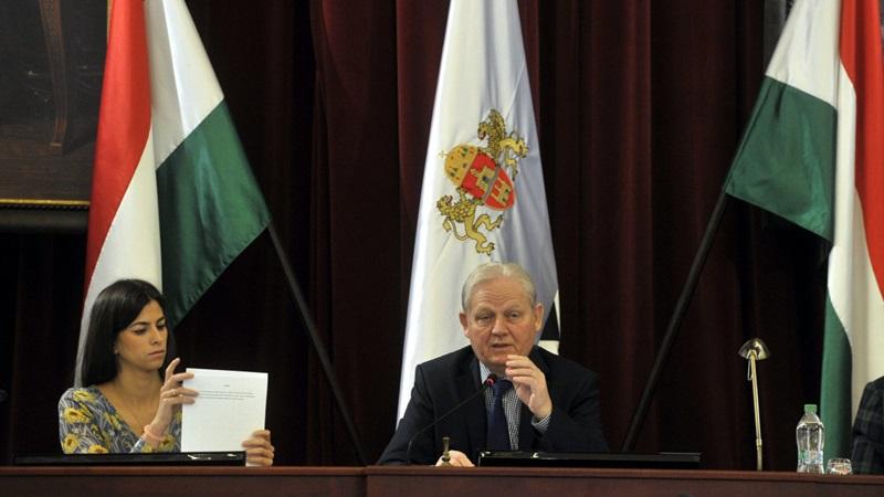 A Fővárosi Közgyűlés november 14-ei ülése (fotó: Kovács Attila - MTI)